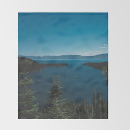 Lake Tahoe VI Throw Blanket