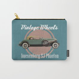 Vintage Wheels: Duesenberg SJ Phaeton Carry-All Pouch