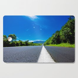 Empty Road Cutting Board