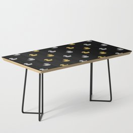 gold silver pattern Coffee Table