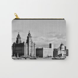 Water front Liverpool (Digital Art) Carry-All Pouch