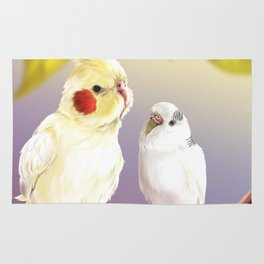 Budgie and Cockatiel Rug