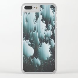 FEELS LIKE WE ONLY GO BACKWARDS Clear iPhone Case