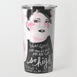 Rebel Girl Travel Mug