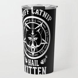 Sniff Catnip - Hail Kitten Travel Mug