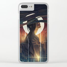Decadence Clear iPhone Case