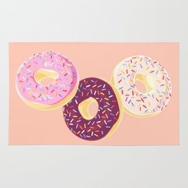 Donuts for me Rug