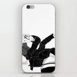 Cough it Up iPhone Skin