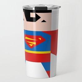 simpleheroes SUPERMAN fan art Travel Mug
