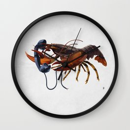 Calling Salvador (wordless) Wall Clock