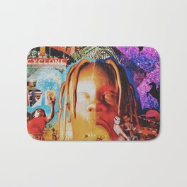 Astroworld Travis fan-art album cover Bath Mat