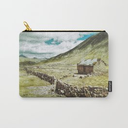 Little House in the Peruvian Andes Carry-All Pouch