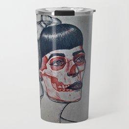Rockabilly x-ray Travel Mug