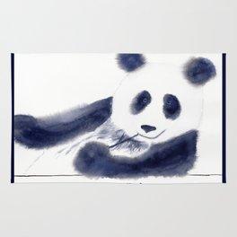 Just Chillin' Whimsical Panda Bear Design Rug
