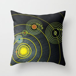 GOLDEN RECORD Throw Pillow