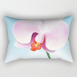 orchid flower Rectangular Pillow