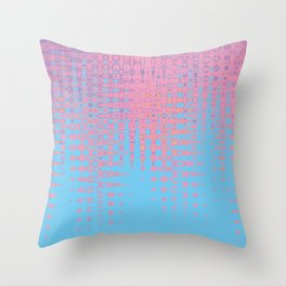 Pastel love Throw Pillow