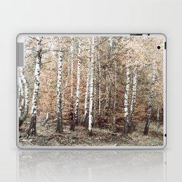 birch forest Laptop & iPad Skin