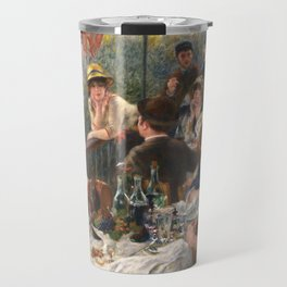 Luncheon of the Boating Party by Renoir Travel Mug
