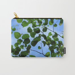Red Bud Leaves Carry-All Pouch