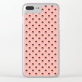 Nick J. #1 Clear iPhone Case