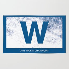 Cubs W, Fly the W Rug