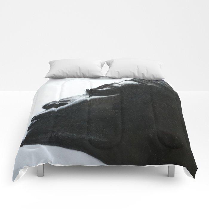 Black Woman Comforters
