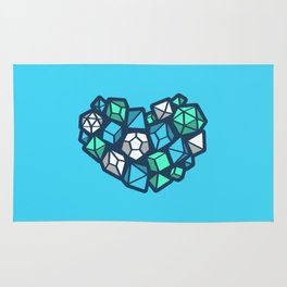 Heart of a Dungeon Master Rug