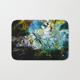 The birth of the butterfly Bath Mat