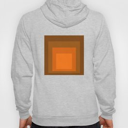 Block Colors - Orange Hoody