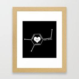 DOPE-[AMINE] Framed Art Print