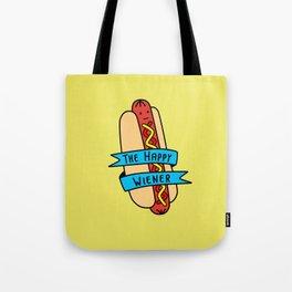 The Happy Wiener Tote Bag