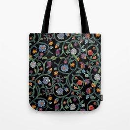 Tudor Vines Tote Bag