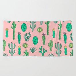 Cactus Pattern Pink