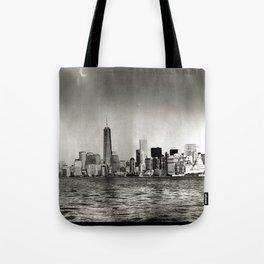 Lower Manhattan, New York City Tote Bag