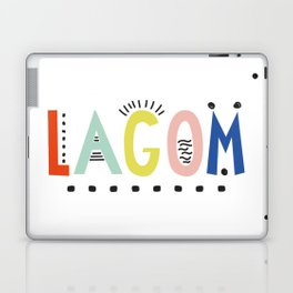Lagom colors Laptop & iPad Skin