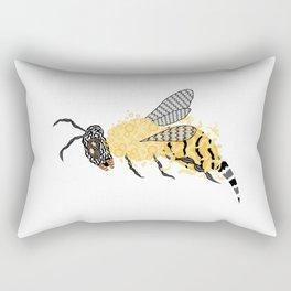 Abstract Bee Rectangular Pillow