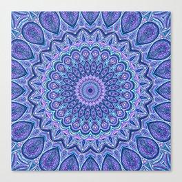 Purple Passion - Mandala Art Canvas Print