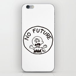 Charly Brown Punk No Future iPhone Skin