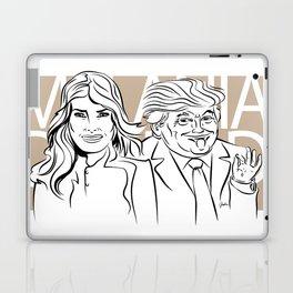 Face Melania And Donald Laptop & iPad Skin