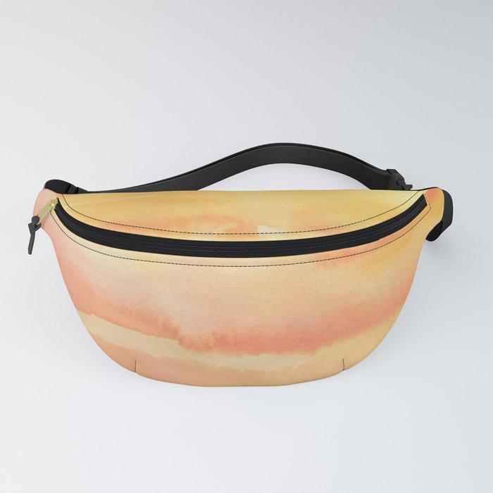 Apricot Sunset Fanny Pack