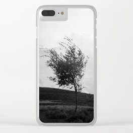 Dartmoor Tree Clear iPhone Case