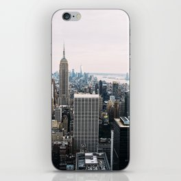 New York skyline from Top of the Rock iPhone Skin
