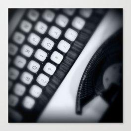 Typewriter Stories Canvas Print