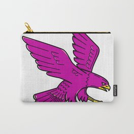 Peregrine Falcon Swoop Mono Line Carry-All Pouch