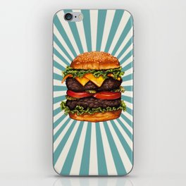 Cheeseburger - Double iPhone Skin