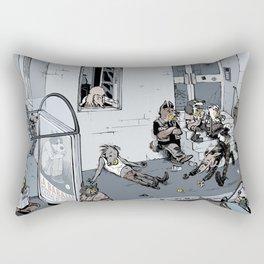Ball-addicted dogs Rectangular Pillow