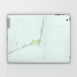 Cape Hatteras National Seashore Map (1985) Laptop & iPad Skin
