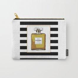 Fashion Art French Decor Fashion IllustrationPrint Perfume,Perfume Print Coco Mademoiselle Fashionis Carry-All Pouch