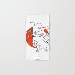 Hack It - Warrior Illustration Hand & Bath Towel